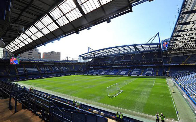 A view of the full pitch at Stamford Bridge