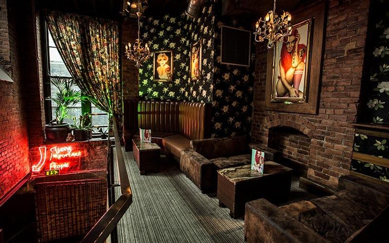 The interior of Florita's, Newcastle