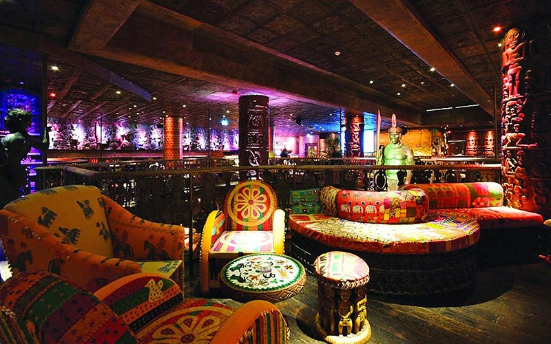 The South African-inspired interiors of Shaka Zulu