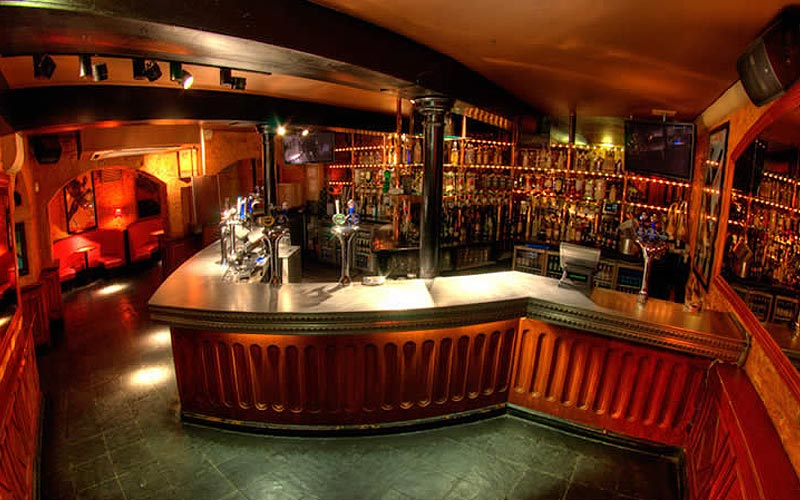 A bar at Espionage, Edinburgh