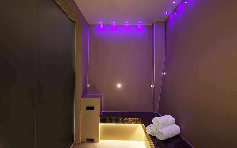 One o the chill out rooms in Beauty and Melody spa