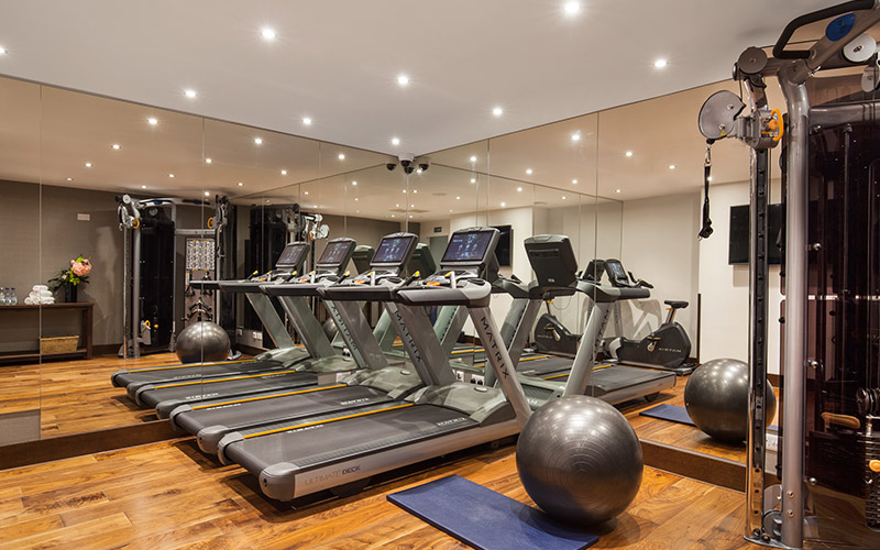 The gym in Beauty and Melody spa