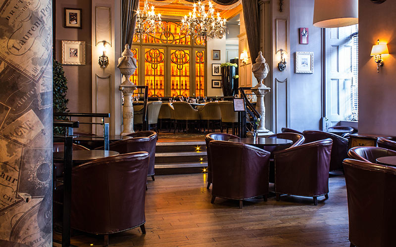 The front seating area in Newcastle's Barluga