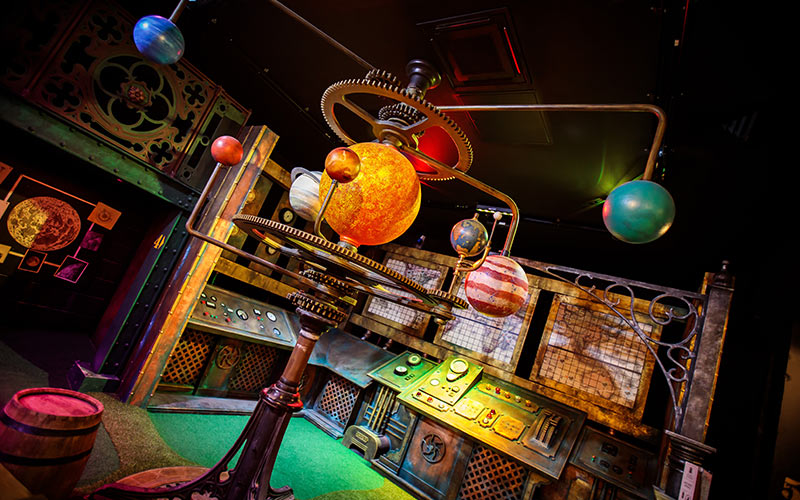 A model of the planets