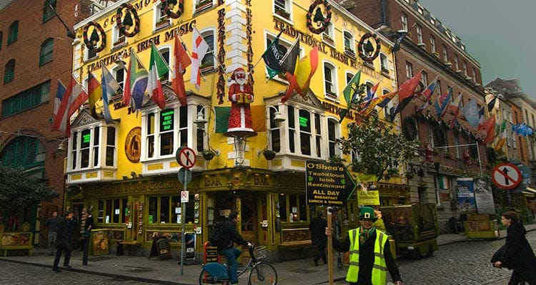 The bright exterior of Oliver St John Gogarty