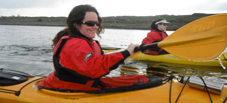 Kayaking in Galway