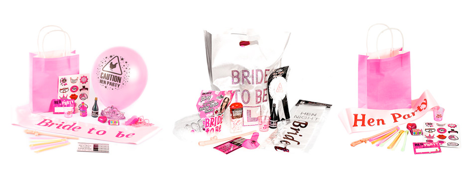 Our range of pre filled gift bags