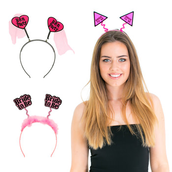 Four examples of the head boppers which we have available.