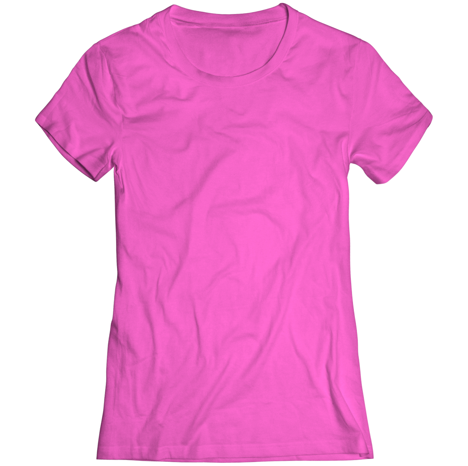 An image of a pink t-shirt