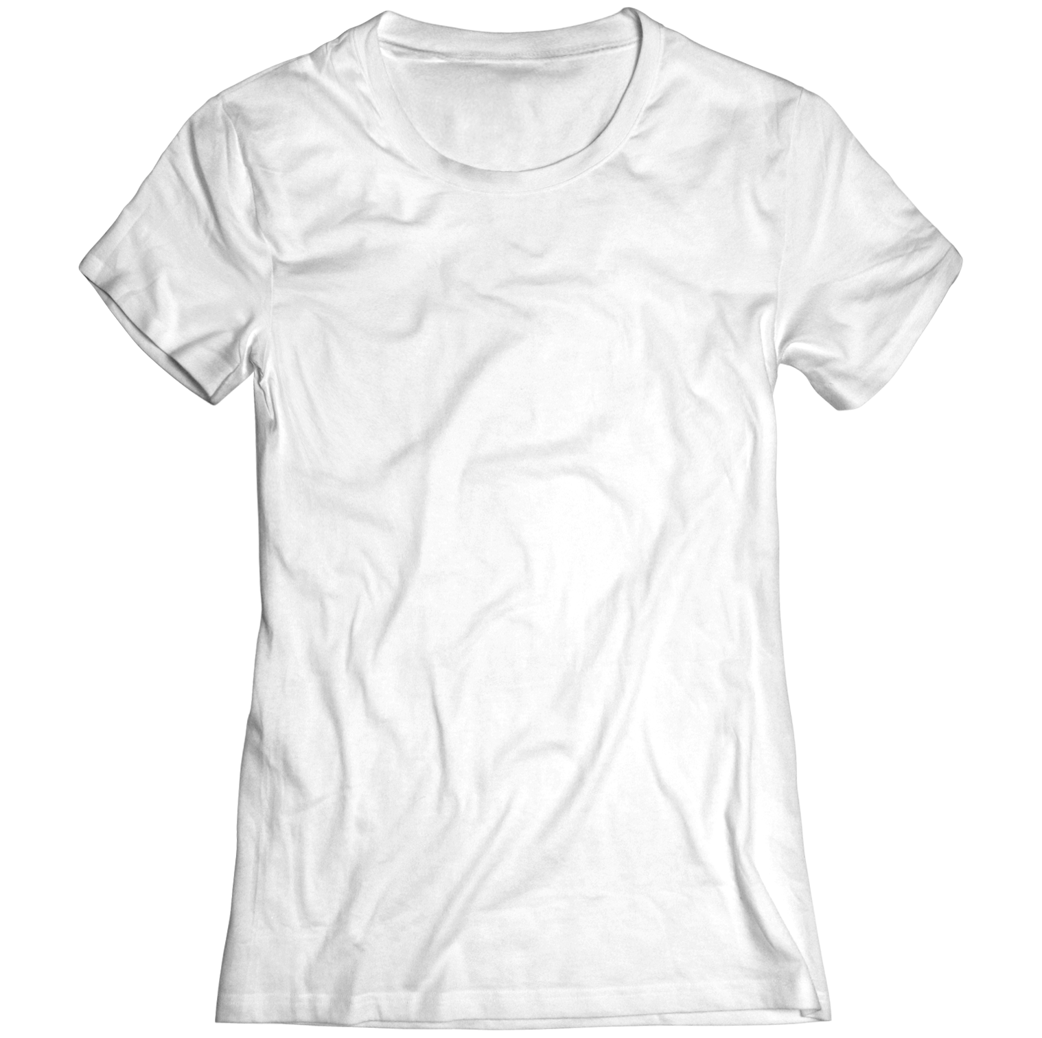 An image of a white t-shirt