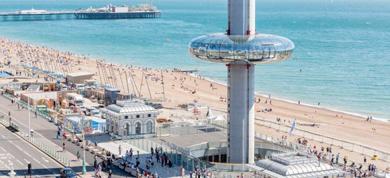 The i360 in Brighton