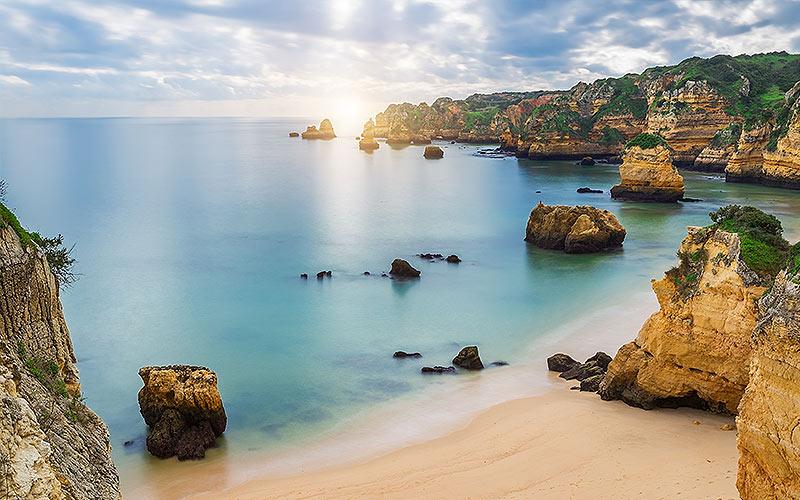A pretty view over the Algarve