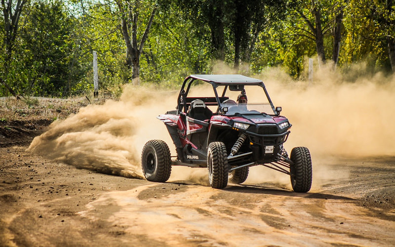 A rage buggy on the sand