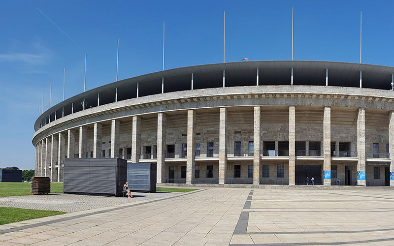 A stadium in Berlin