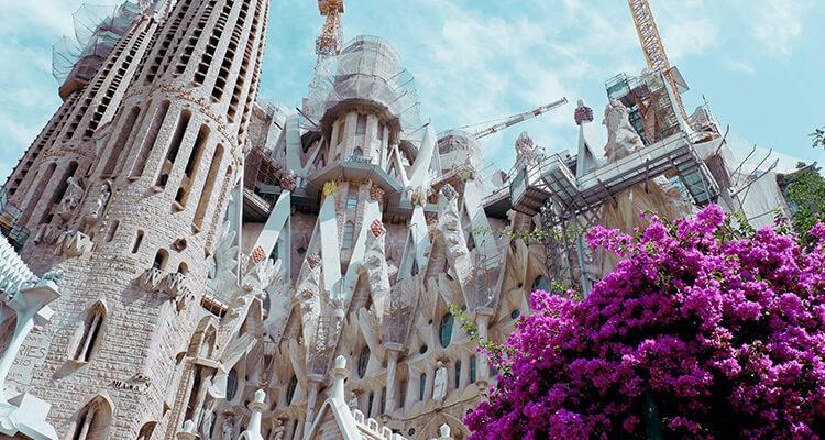 The works of Antoni Gaudi