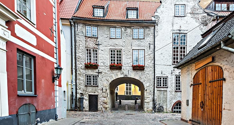 Swedish Gate and Old City Walls