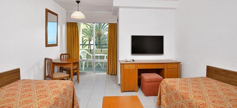 A classic hotel room in Benalmadena
