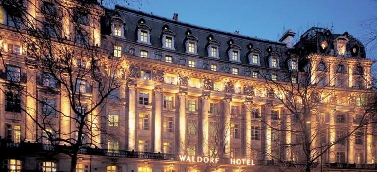 A grand hotel in London