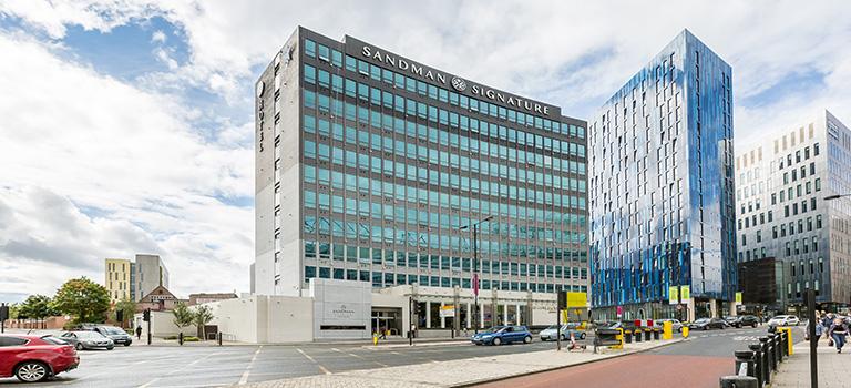 Newcastle's Sandman Hotel