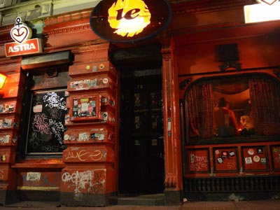Le Fonque bar, in Sternschanze