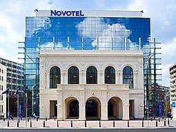 Exterior of Novotel City Centre, Bucharest