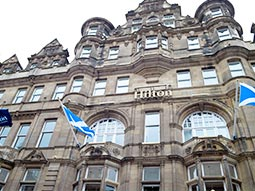 Exterior of Hilton Edinburgh Carlton