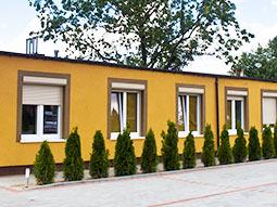 The exterior of Hostel Filip