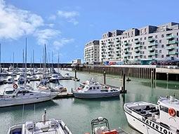The exterior of Rethink Living Apartments Brighton