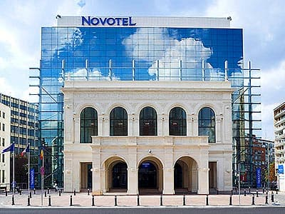Exterior of Novotel City Centre, Bucharest