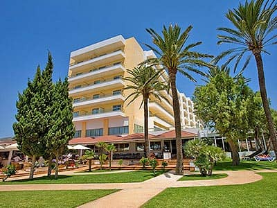 Exterior of Hotel Torre Del Mar, during the day