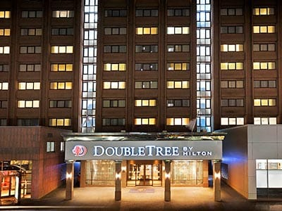 Exterior of DoubleTree by Hilton Glasgow Central