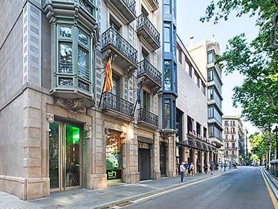 Exterior of Urbany BCN GO during the day