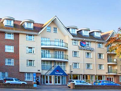 Exterior of Travelodge Bournemouth