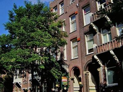 Exterior of Omega Hotel Amsterdam