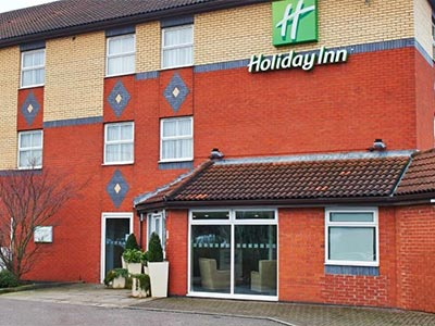 The exterior of Holiday Inn Manchester West