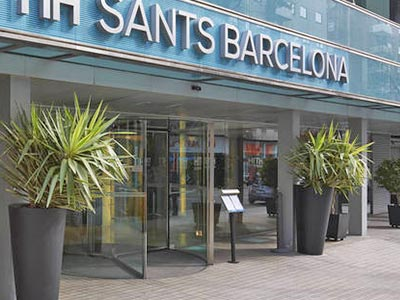 Exterior of the NH Sants Barcelona