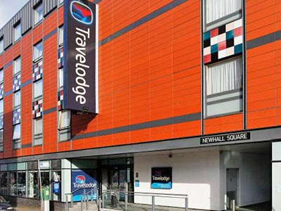 Exterior of Travelodge Birmingham Central Newhall Street