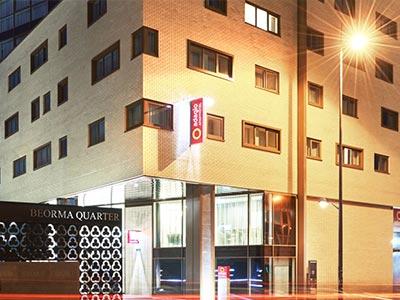 The exterior of Aparthotel Adagio