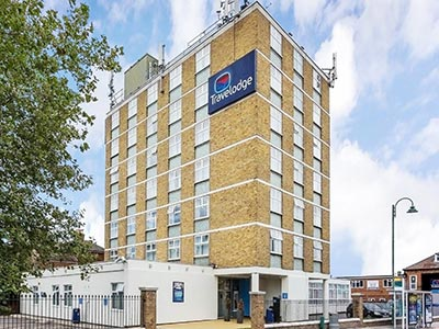 The exterior of Travelodge Southampton