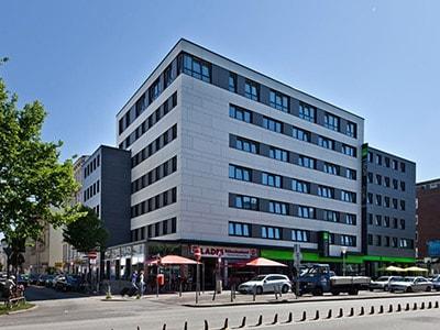 The exterior of Novum Style Hotel Hamburg