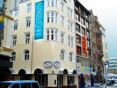 The exterior EXPO City Hotel Frankfurt