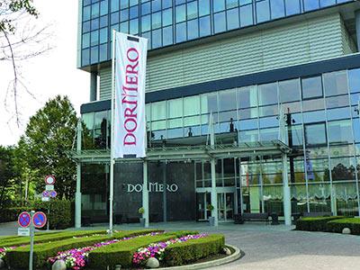 The exterior of the Dormero Hotel