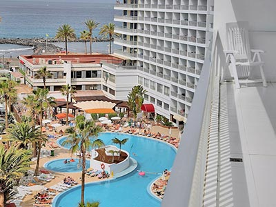 The exterior of Palm Beach Club