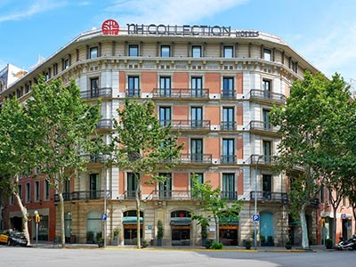 The exterior of NH Collection Barcelona Podium