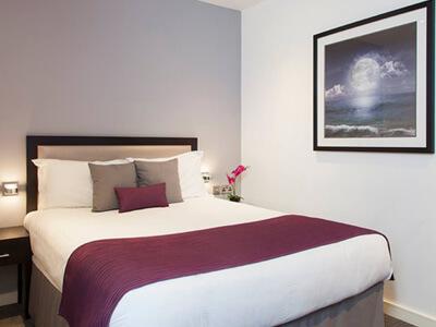 A bedroom at Seel Street Hotel