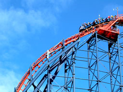Blackpool Pier, with the Big Wheel in the background