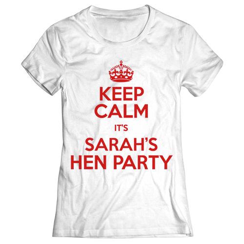 Keep Calm Hen