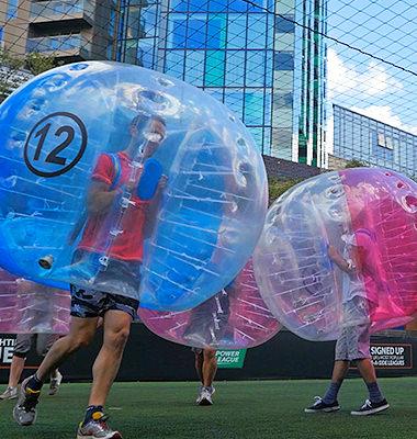 Bubble Football - Book Now