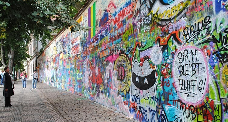 The Lennon Wall
