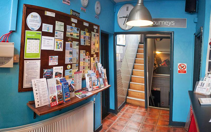 Journeys Hostel Entrance